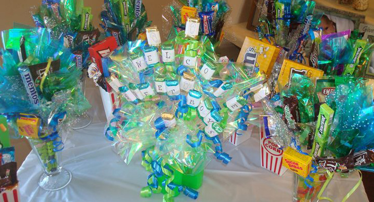 pics photos coed baby shower prizes fun baby shower games